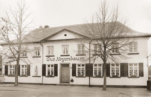 Historisches Foto vom Gut Heyenbaum