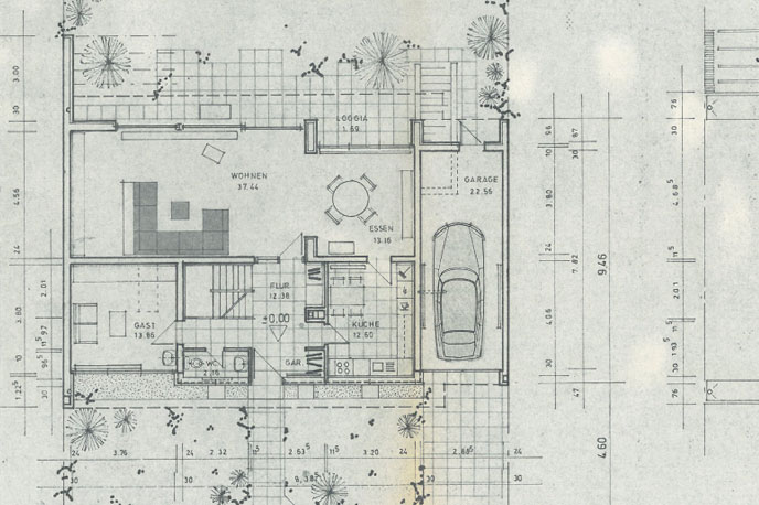 Original Grundriss der Immobilie