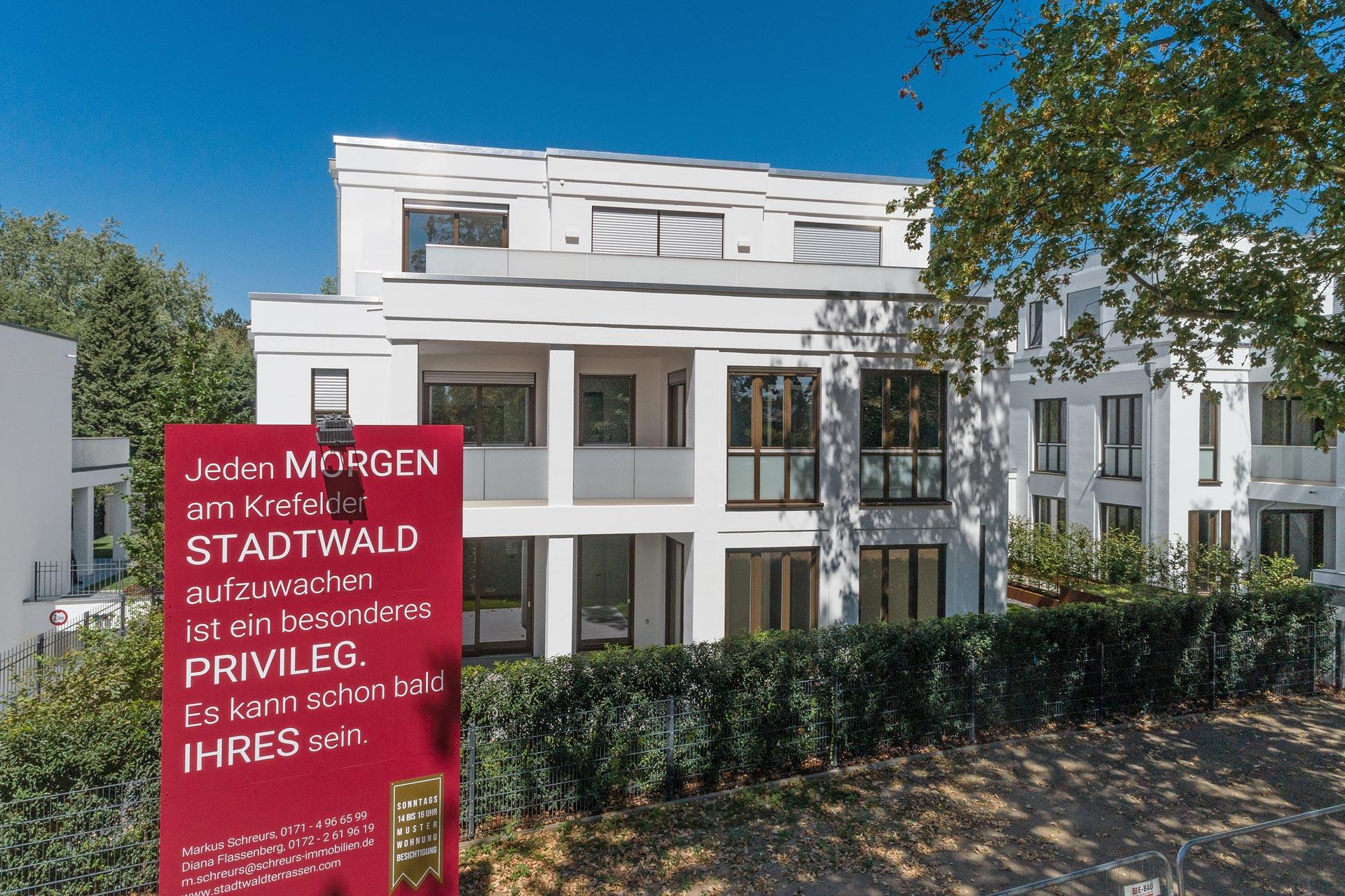Wohnungen am Stadtwald in Krefeld