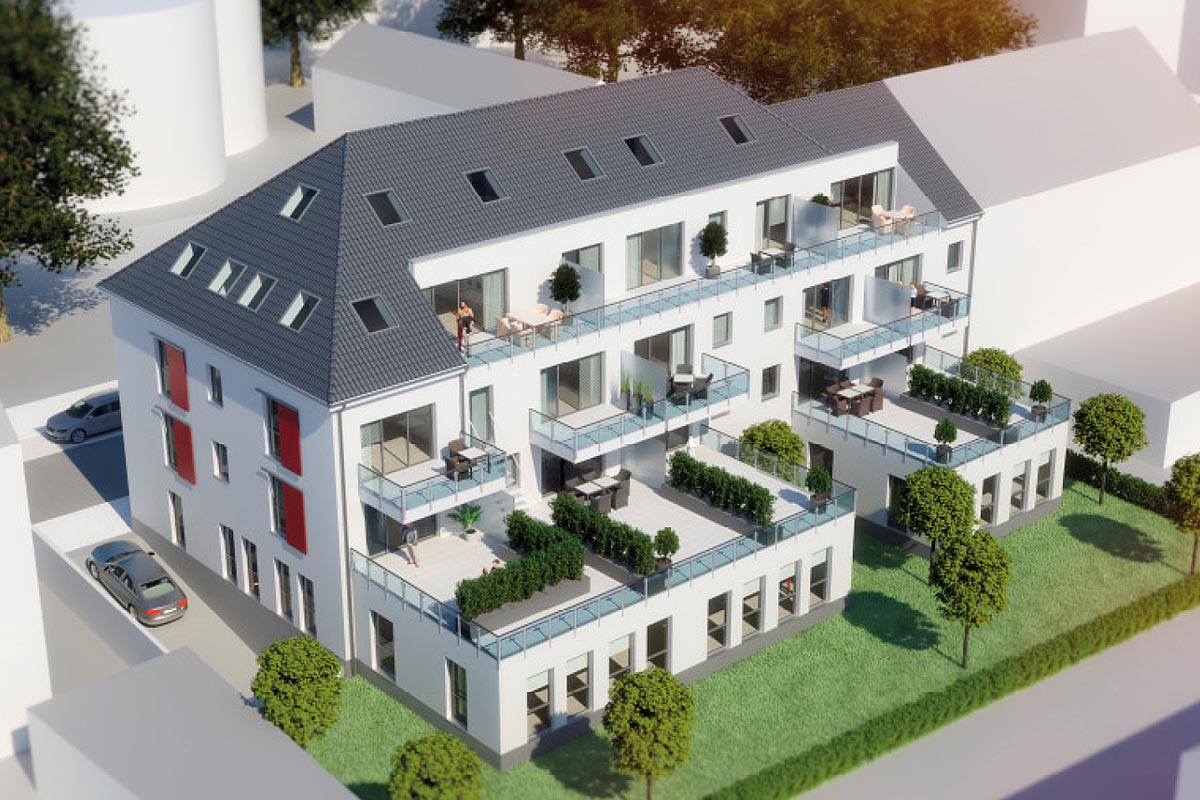 Wohnung auf der Wielandstrasse in Krefeld